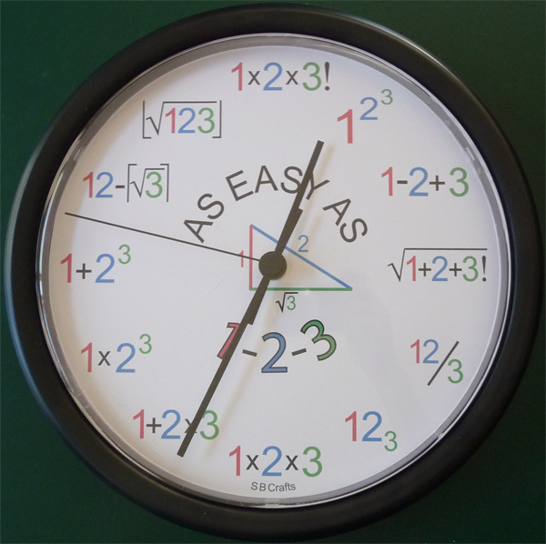 Sb Crafts Math Clocks